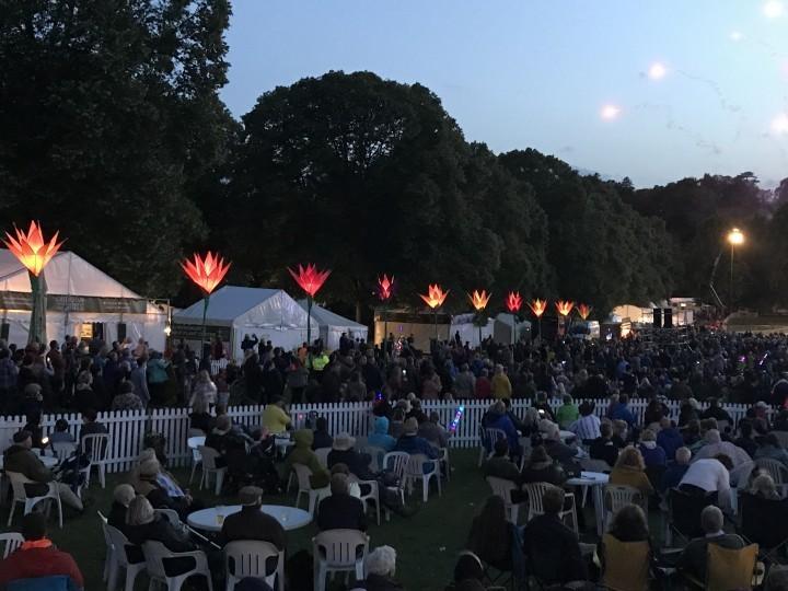 Thousands of people from across UK enjoyed Shrewsbury Flower Show