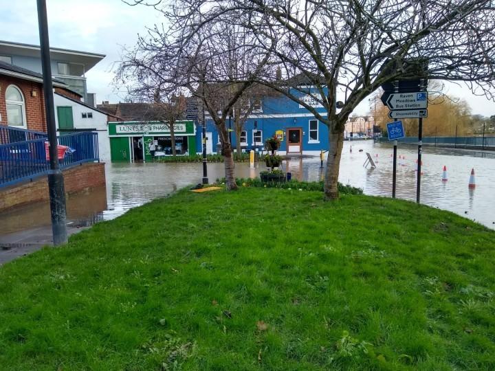 shrewsbury, ironbridge, bridgnorth, shropshire. flooding, february, 2020