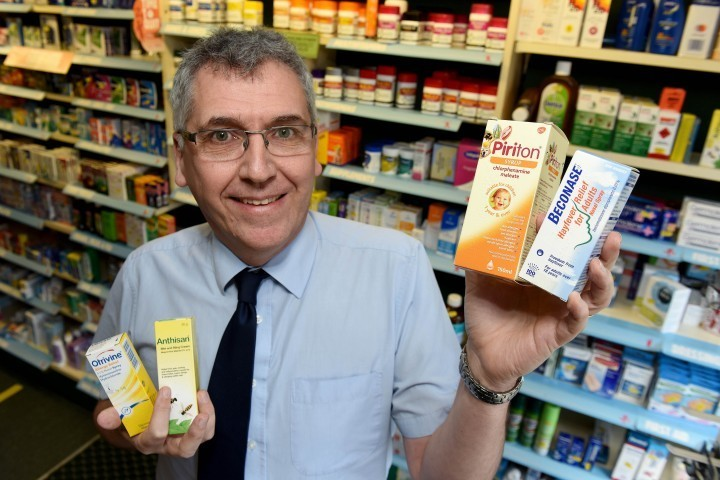 Shropshire pharmacist supports allergy awareness week