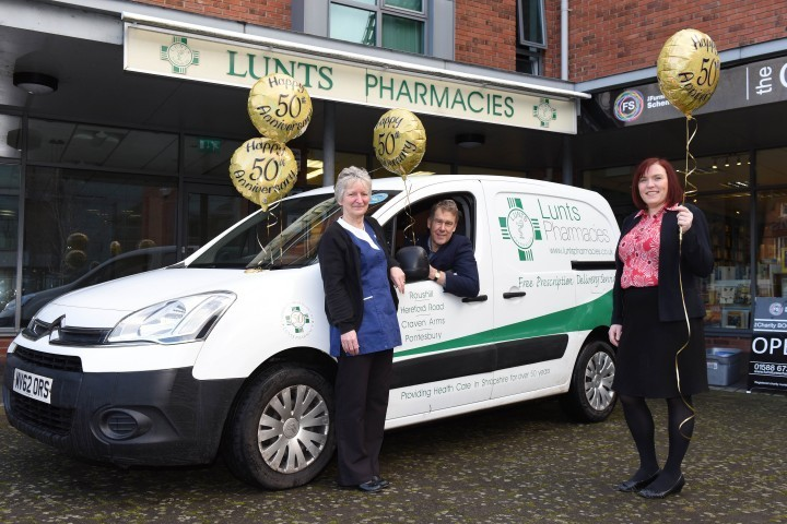 Pharmacy celebrates golden year with branded stores and vans