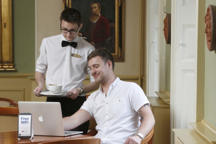 Hotel officially launches £10,000 internet upgrade at borough business club