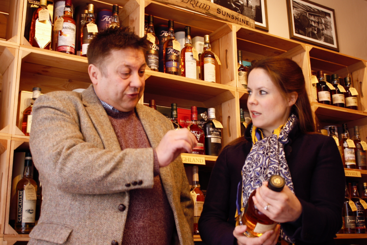 Whisky enthusiast opens first shop in Shrewsbury