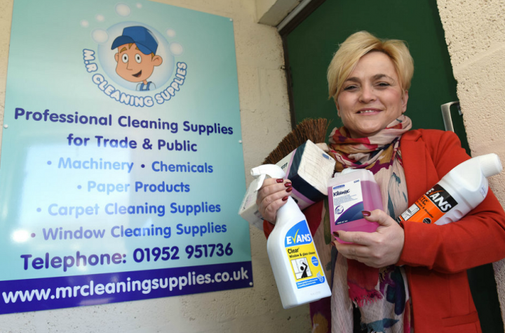 Cleaning supplies trade counter is a huge success
