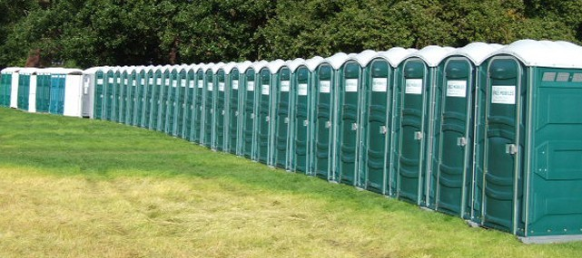 Portable toilet business up for sale