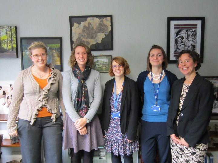 Teachers settle in at Shropshire school
