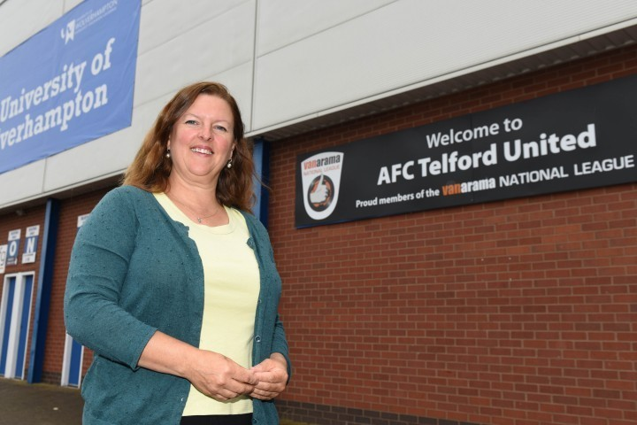Family run IT company helps to keep AFC Telford United on top of its game