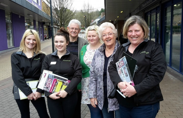 Councillors pounding the streets to promote business support project in Telford