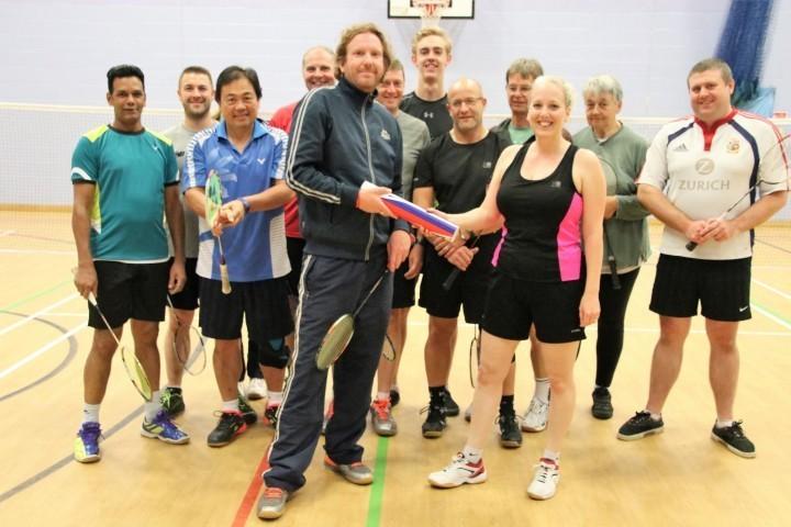 Shropshire design studio boss sponsors badminton club