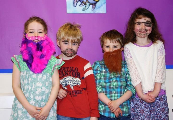 Beard for a bard at Prestfelde School