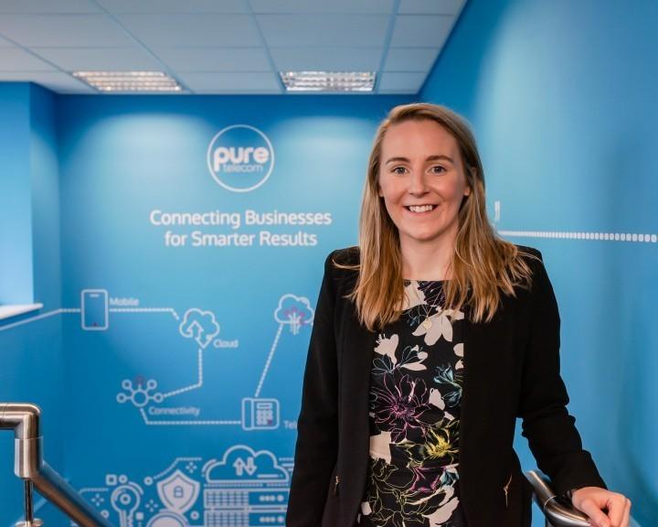 New face at Pure Telecom