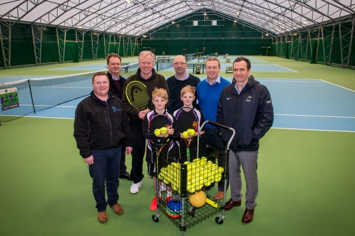Shropshire school tennis centre wins award and will be replicated