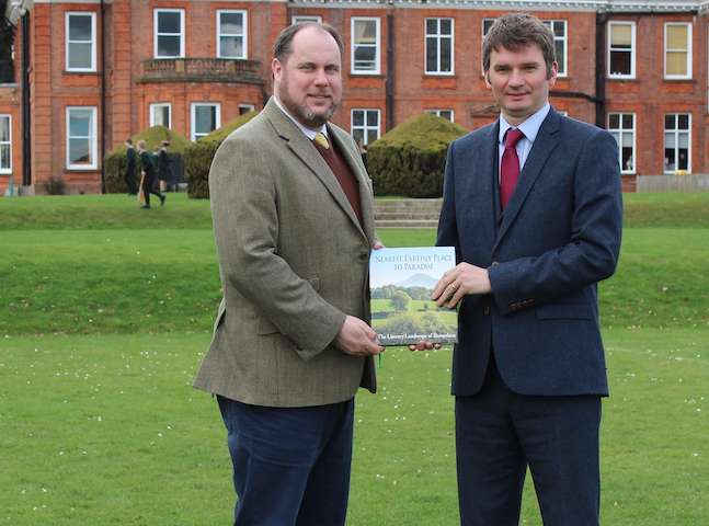 Estate agents and school team up for book launch