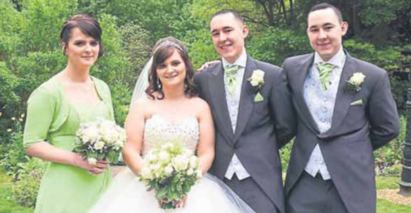 Shropshire hotel hosts wedding with a difference