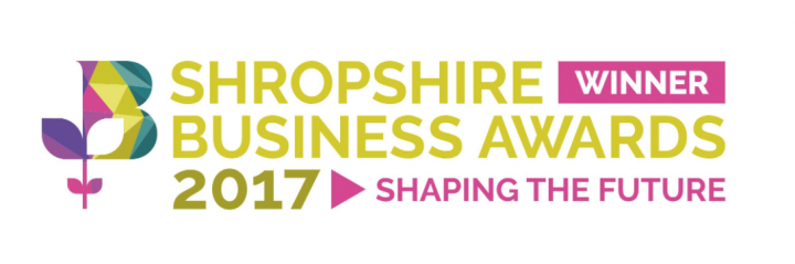 We won Shropshire's Business in the Community 2017