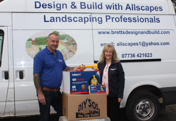 Shropshire security firm helps out DIY SOS volunteer theft victim