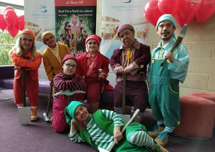 The Seven Dwarfs at Shrewsbury's Theatre Severn
