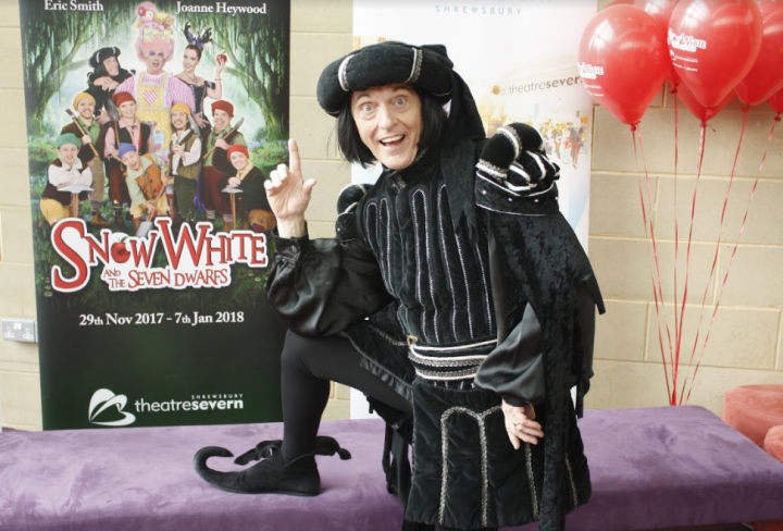 Shropshire's own panto hero is back on stage!