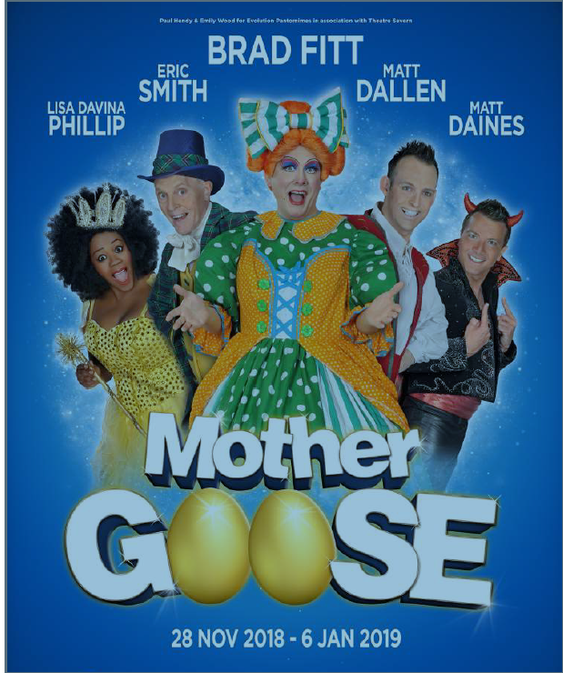 Oh yes it is! It's Panto time again!