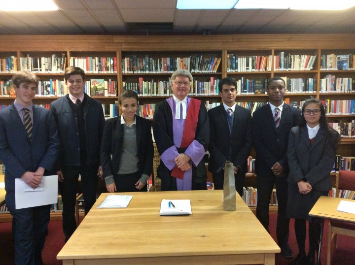 Shrewsbury school pupils get taste of the courtroom