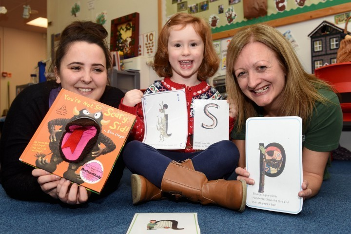 Little 'monsters' help Shropshire children to read and write