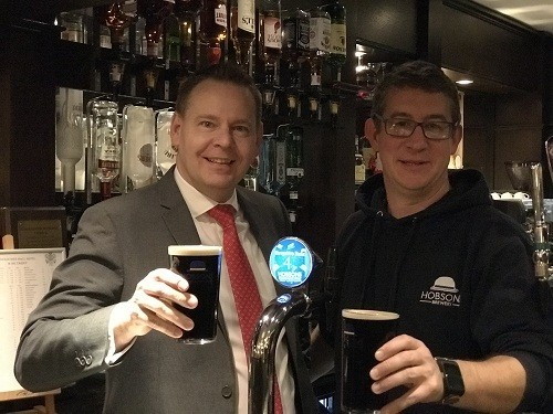 New beer celebrates Shropshire at county hotel