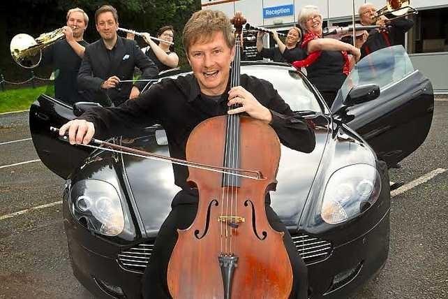 Shropshire garage to host the Bridgnorth Sinfonia