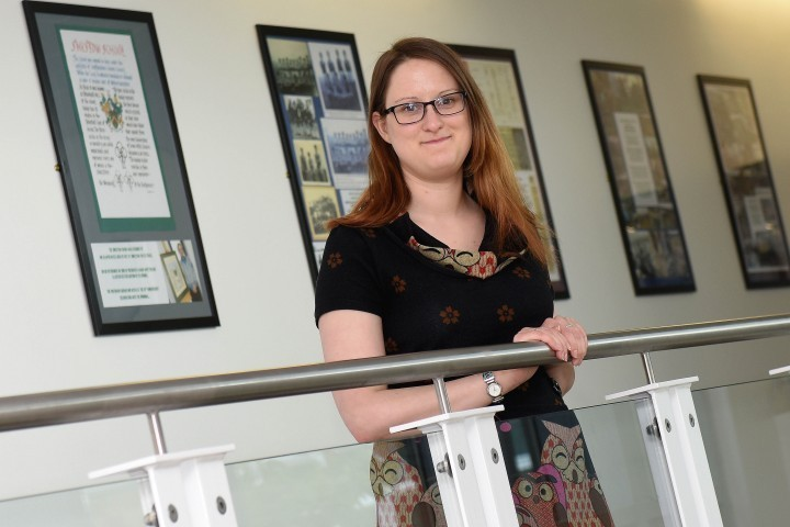 Student inspired to teach after working with youngsters