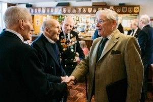 Veterans who are supported by SSAFA