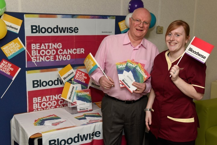 Care company raising funds for Blood Cancer Awareness Month