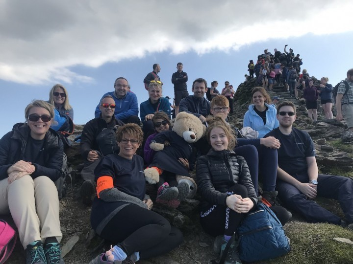 Shropshire lawyers hike for charity