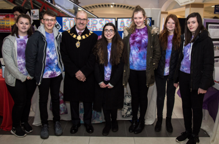 Mayor of Shrewsbury meets Young Entrepreneurs