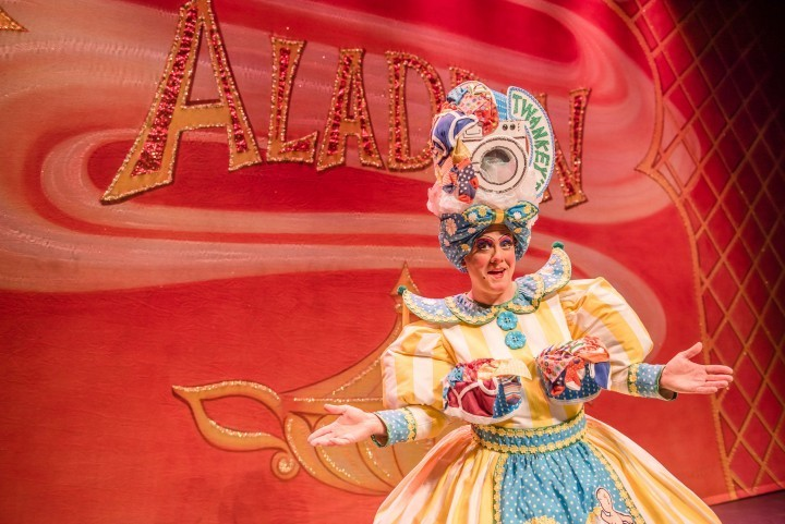 Shrewsbury's dame talks to J&PR about all things panto