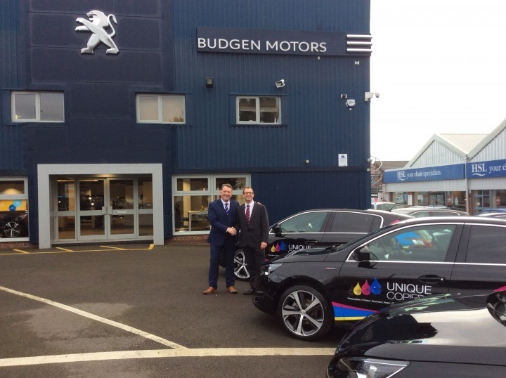 New fleet secured by photocopying firm in Telford