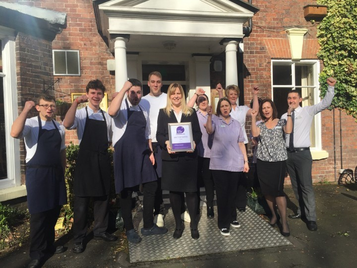 Shropshire hotel awarded Top Rated status
