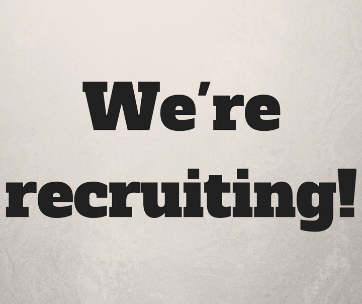 We are recruiting