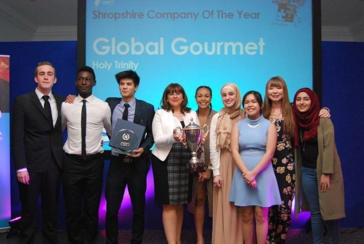 Last year's winners Global Gourmet