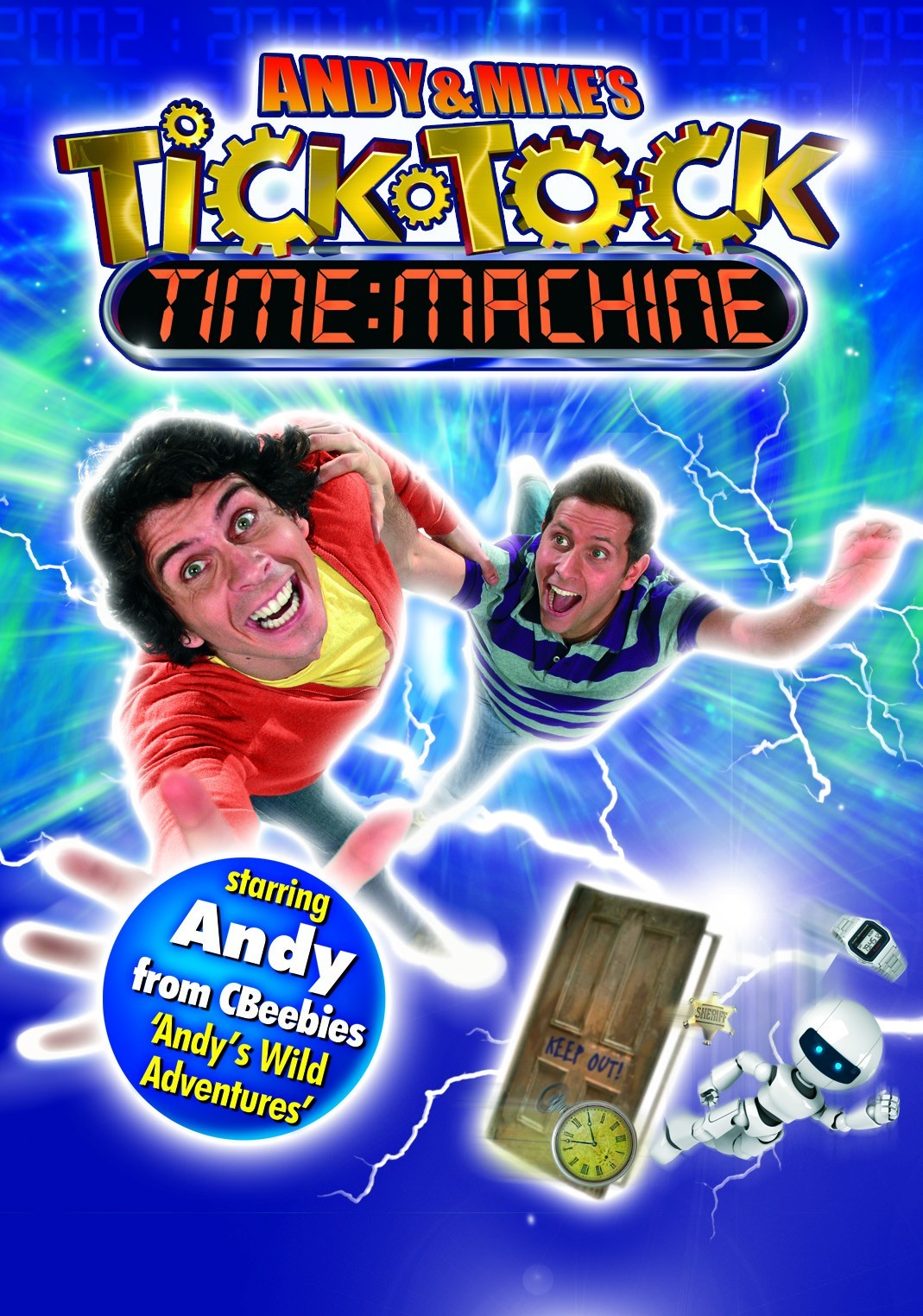 Tick tock – time machine experience for toddler audience at Theatre Severn.