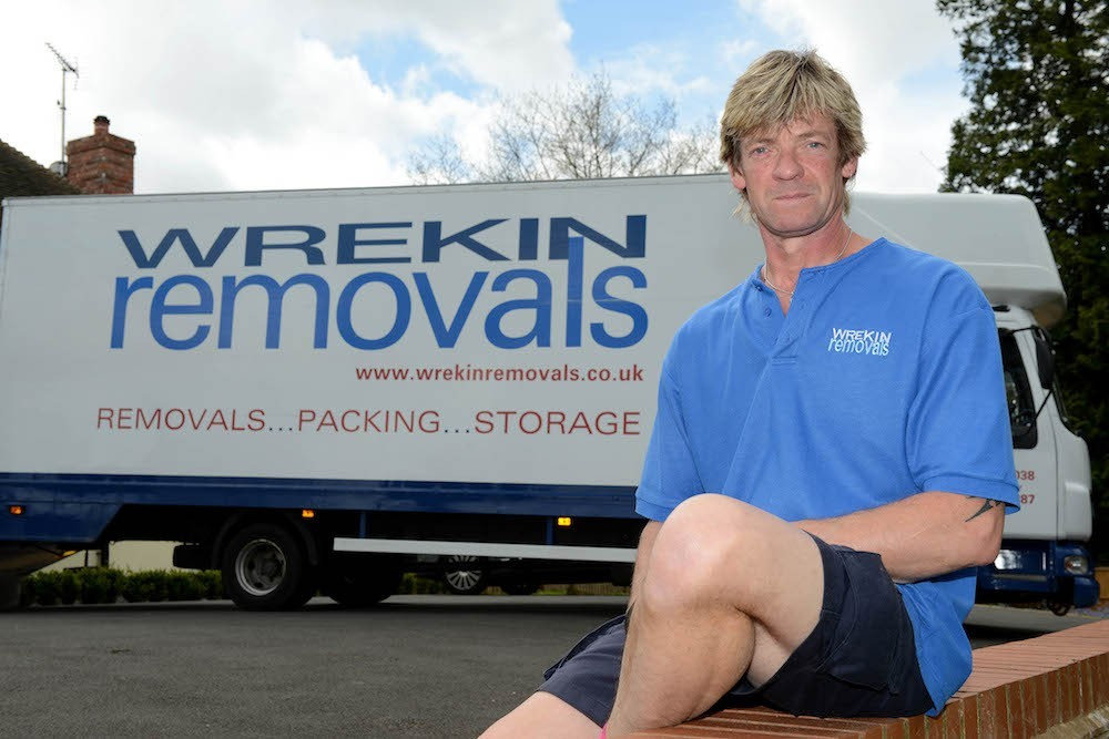Terry from Wrekin Removals