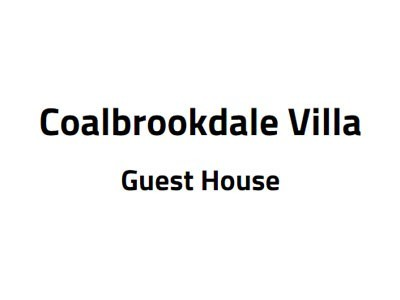 Coalbrookdale Villa Guest House