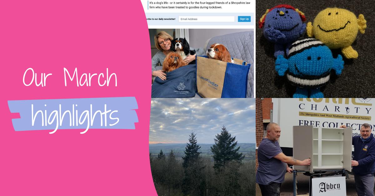 J&PR's March Highlights