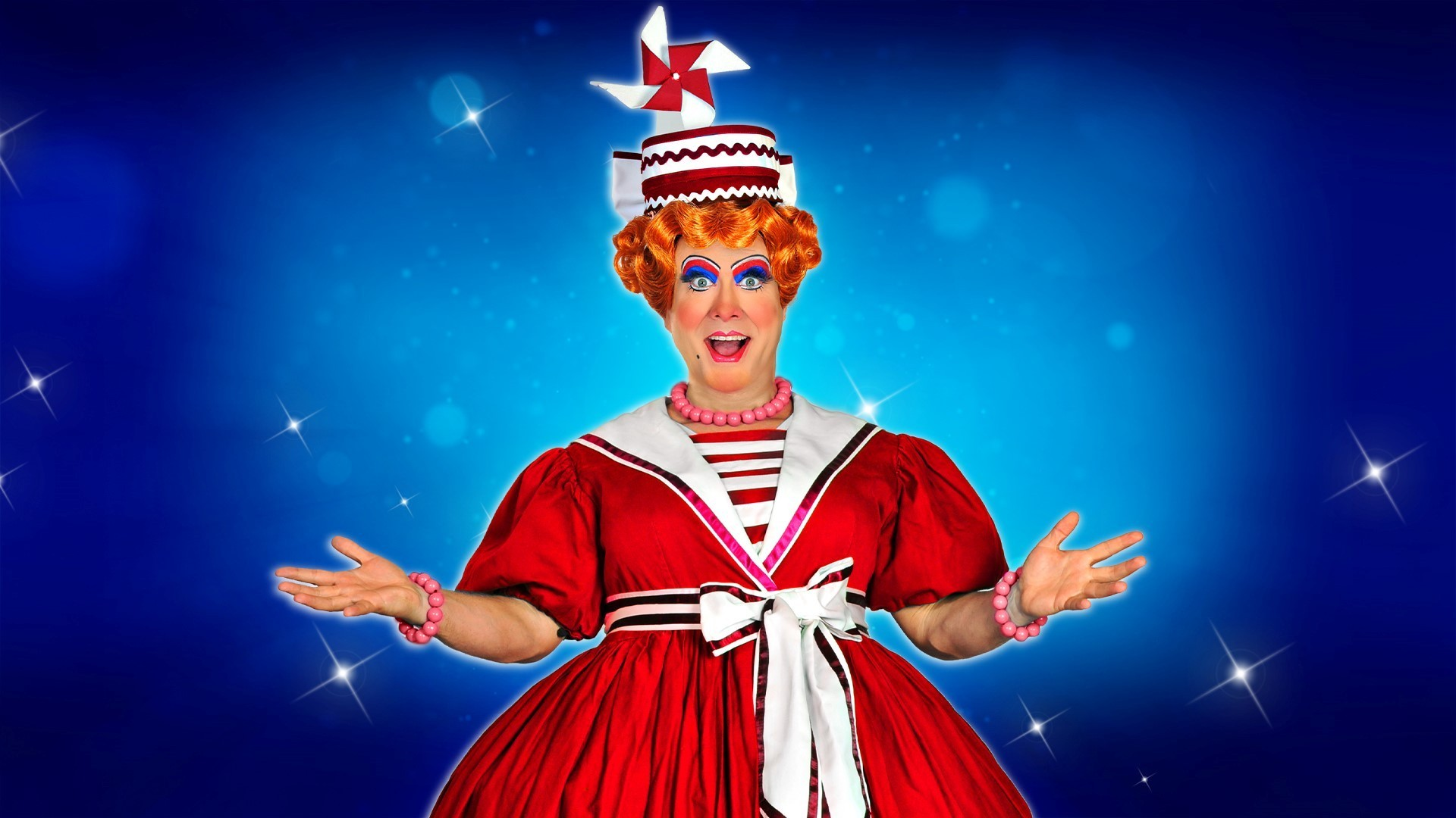 Oh yes it is... the panto's coming back!