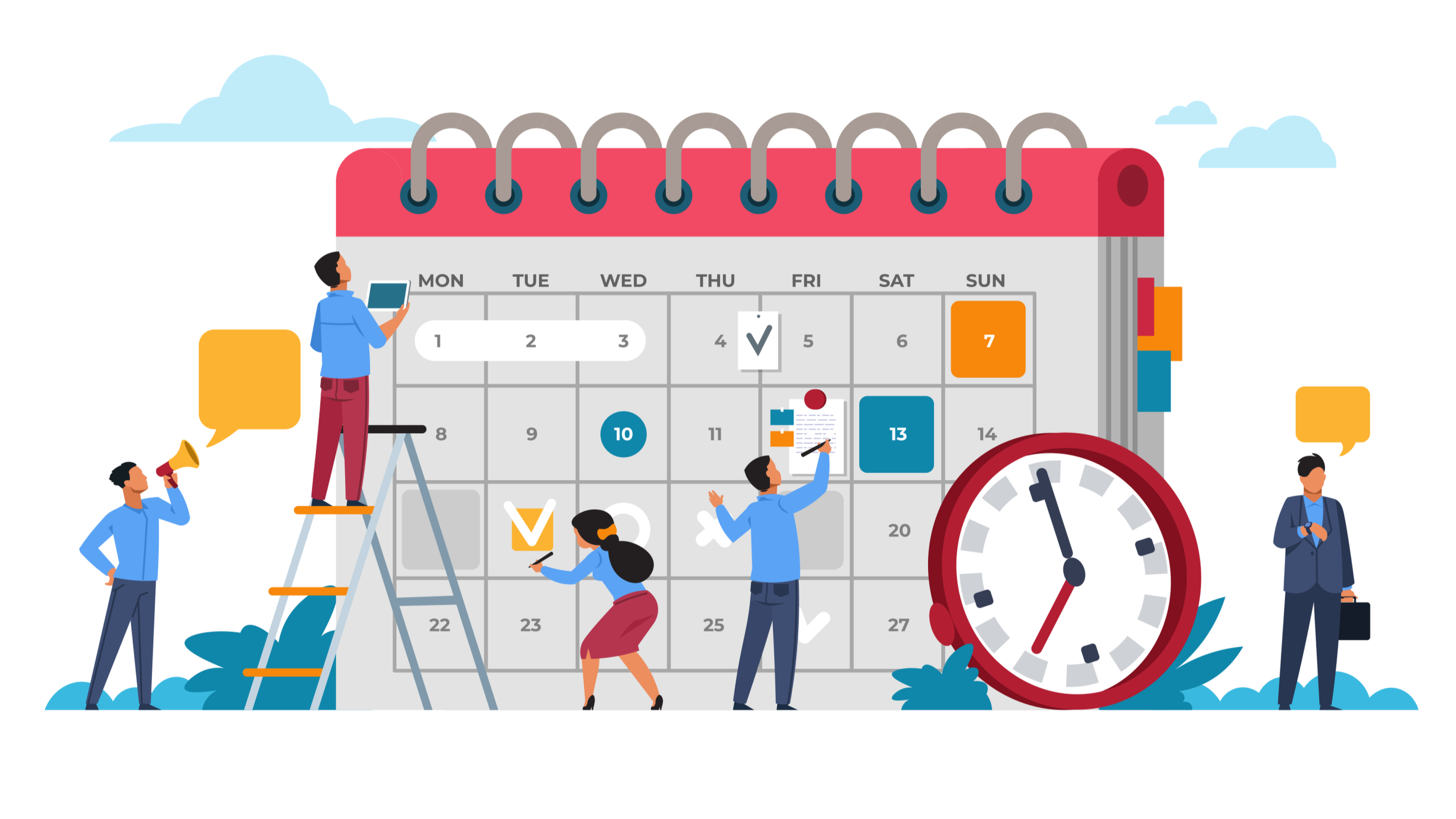 Does scheduling social media content affect your reach and engagement?